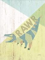 Rawr Dinosaur Fine Art Print