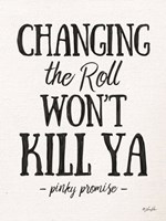 Changing the Roll Fine Art Print