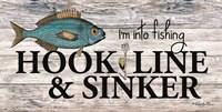 Hook, Line & Sinker Fine Art Print