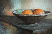 Orange Still Life Fine Art Print