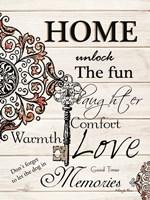 Home Fine Art Print