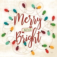 Merry & Bright Fine Art Print