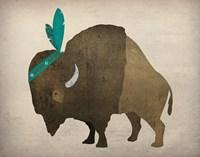 Buffalo Bison III Fine Art Print