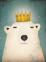 Polar King Framed Print