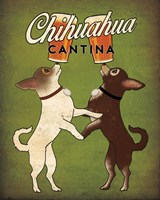 Double Chihuahua v2 Fine Art Print