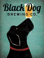 Black Dog Brewing Co v2 Fine Art Print