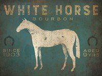 White Horse No Kentucky Fine Art Print