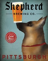 Shepherd Brewing Co Pittsburgh Fine Art Print