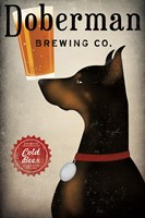 Doberman Brewing Company Fine Art Print