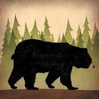 Take a Hike Bear no Words Fine Art Print