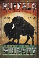 Buffalo Whiskey Framed Print