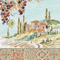 Tuscan Breeze III Fine Art Print