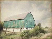 Late Summer Barn I Crop Vintage Fine Art Print