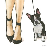 Furry Fashion Friends II Fine Art Print