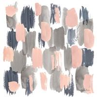 Grey Pink Mist I Fine Art Print