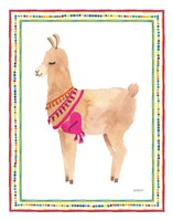 La La Llama IV Fine Art Print