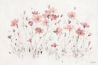 Wildflowers I Pink Fine Art Print