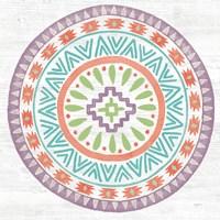 Lovely Llamas Mandala II Fine Art Print