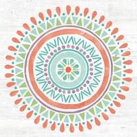 Lovely Llamas Mandala I Fine Art Print