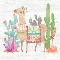 Lovely Llamas IV Fine Art Print