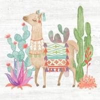 Lovely Llamas IV Fine Art Print
