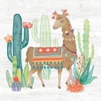 Lovely Llamas III Fine Art Print
