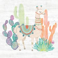 Lovely Llamas II Fine Art Print