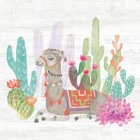 Lovely Llamas I Fine Art Print