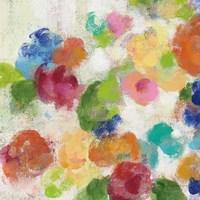 Hydrangea Bouquet I Square I Framed Print
