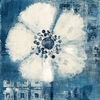 Daisy for Barbara Blue Crop Fine Art Print