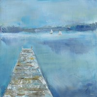 Lake Edge II Fine Art Print
