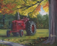 Farmall Splendour Fine Art Print