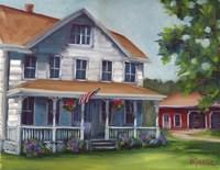 Porch Days Fine Art Print