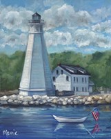 New London Lighthouse Fine Art Print