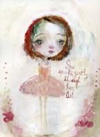 She Speaks Gently Fine Art Print
