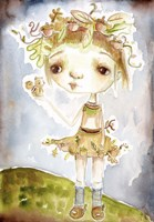 Acorn Princess Fine Art Print