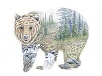 Scenic Bear Fine Art Print