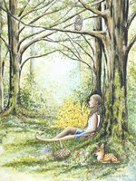 Forest Meditation Fine Art Print