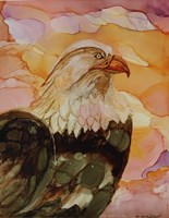 Majestic Eagle Fine Art Print