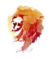 Angry Lion Fine Art Print
