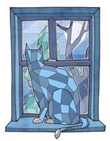 Window Watcher Fine Art Print