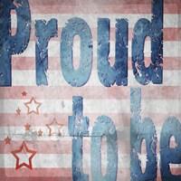 American Born Free Sign Collection 3 Fine Art Print