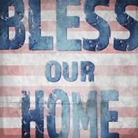 American Born Free Sign Collection 4 Fine Art Print