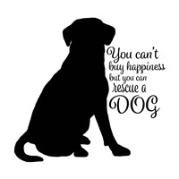 Rescue Dog 9 Fine Art Print