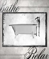 Beloved Bath - Relax Framed Print