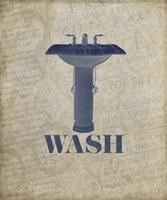 Beloved Bath Blue - Wash Fine Art Print