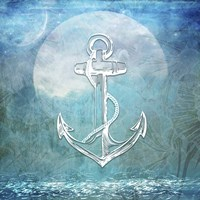Sailor Away Anchor Fine Art Print
