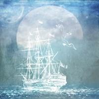Sailor Away Ship 2 Fine Art Print