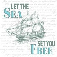 Sailor Away Sign 1 Fine Art Print