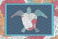 Sea Side BoHo - Turtle Fine Art Print